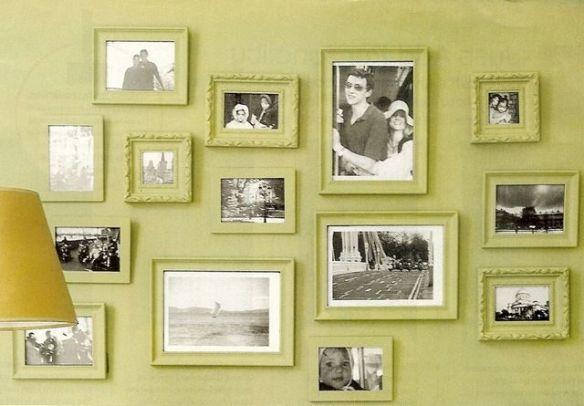 molduras cor da parede ideias decoracao composicao quadros parede