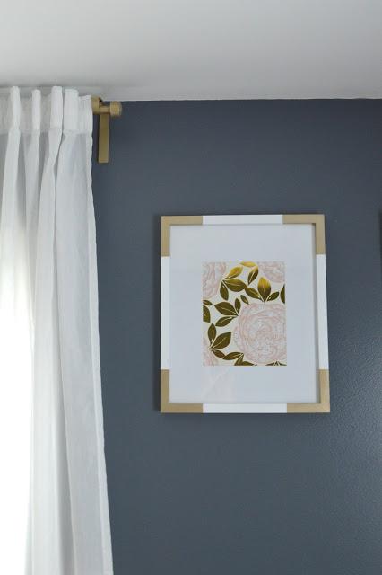 personalizar molduras decorar ideias tinta spray dourada decoração molduras quadros 2