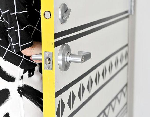 decoracao porta fita adesiva washi tape fita isolante