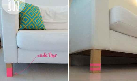 detalhes pes moveis fita washi tape