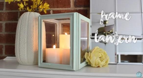 lanternas decorativas faca voce mesmo diy reutilizar molduras reaproveitar reciclar