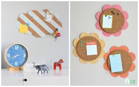 mural recados cortica quarto infantil decoracao parede faca voce mesmo diy