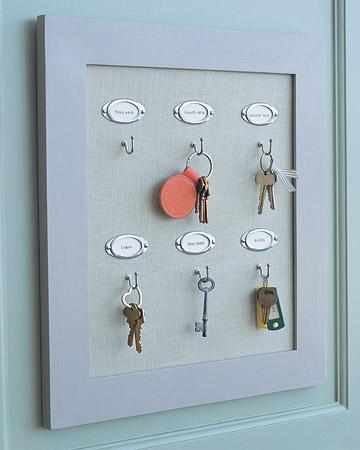 porta chaves faca voce diy mesmo moldura porta retrato 3