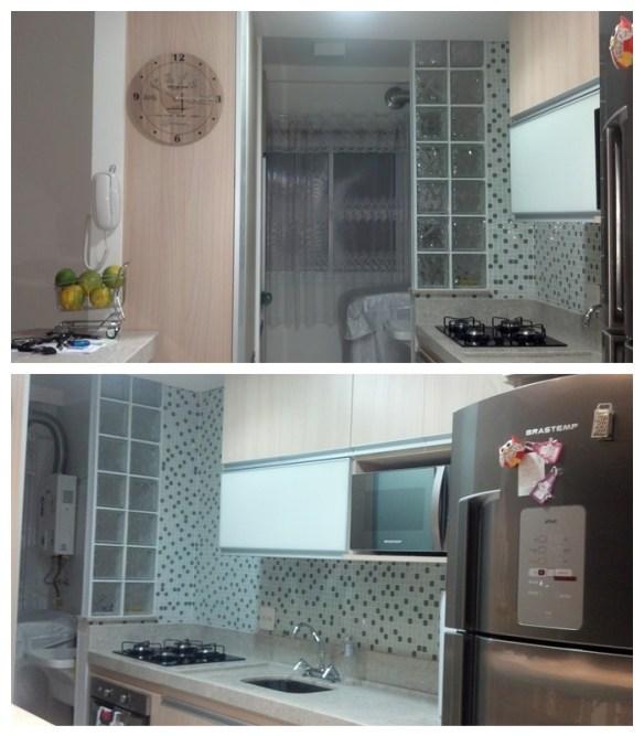 separacao cozinha lavanderia area de servico tijolos blocos de vidro mureta