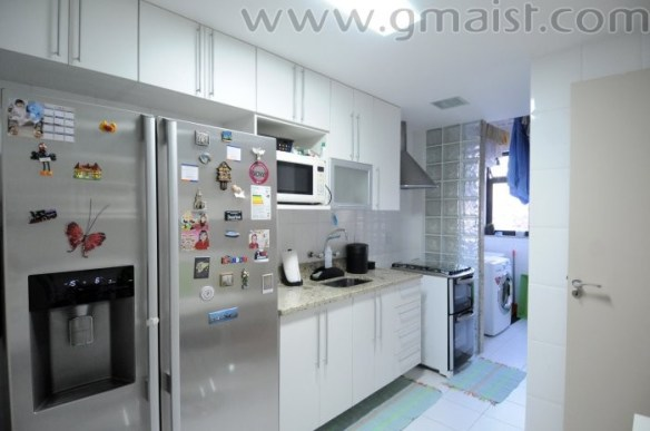 separacao cozinha lavanderia area de servico tijolos blocos de vidro