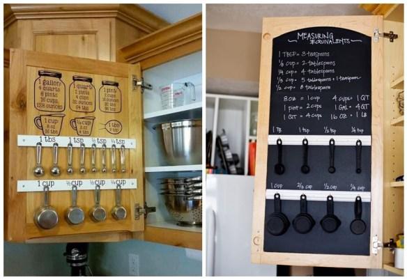 aproveitamento atras da porta armario cozinha organizacao