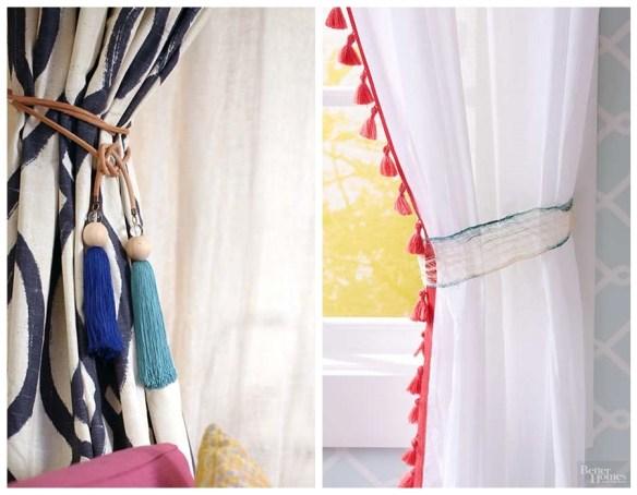 como usar tassel pingente franjas decoracao faca voce mesmo diy detalhes cortina 2
