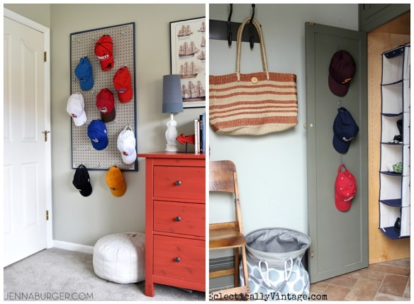 organizacao bones pequenos espacos parede atras da porta
