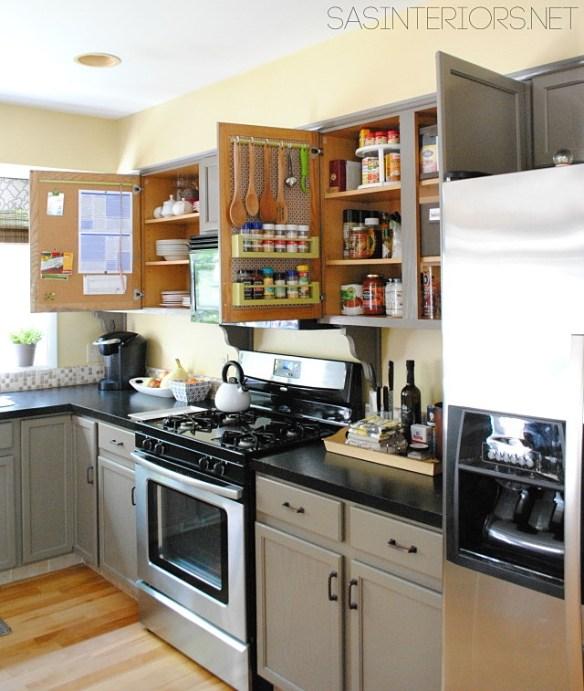 porta temperos atras porta armario cozinha organizacao aproveitamento espaco 2
