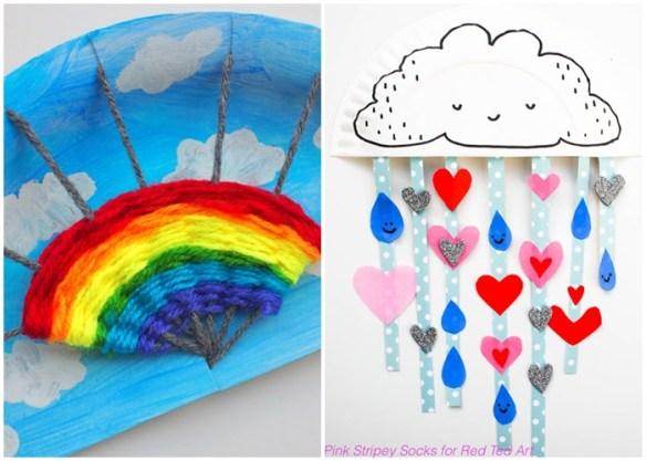 atividades artes criancas prato de papel ideias criativas