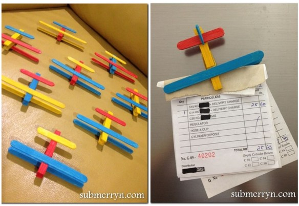 atividades criancas materiais baratos palito sorvete picole aviao prendedor roupa aviaozinho