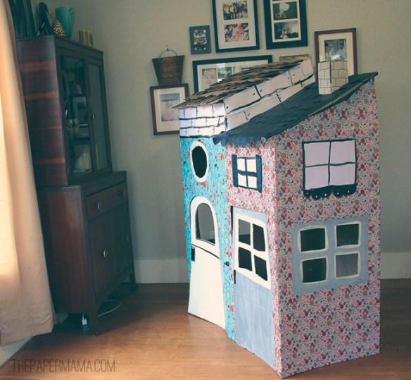 casinhas papelao decoradas faca voce mesmo diy brincadeira criancas baratas