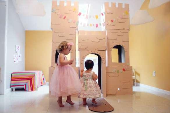 castelo caixas de papelao faca voce mesmo diy
