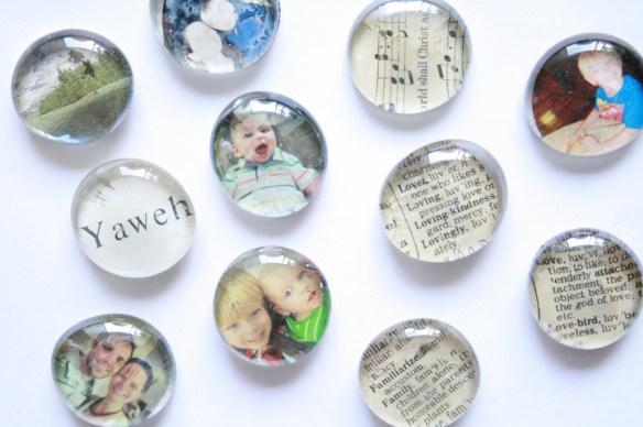 imas de vidro com fotos faca voce mesmo diy glass magnets