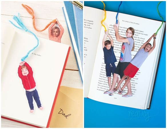 marcadores livros com fotos faca voce mesmo diy marcadores divertidos funny photo bookmarks