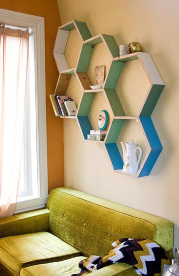 nichos_hexagonais_formas_geométricas_decoração