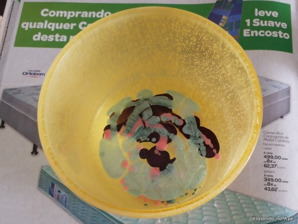 esmalte na agua decoracao pedra vaso