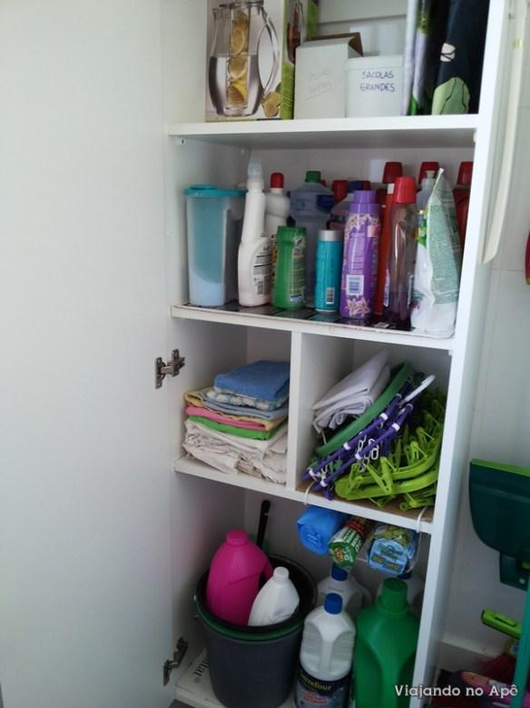 armario planejado lavanderia area de serviço