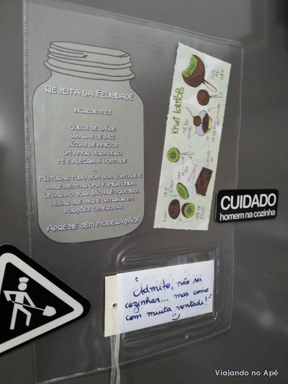 porta recados geladeira