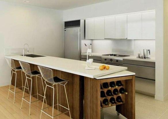 porta vinhos bancada cozinha