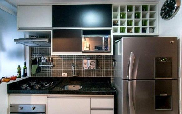 porta vinhos cozinha armario planejado