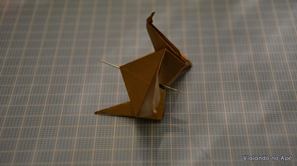 tsuru grou dobradura origami 2