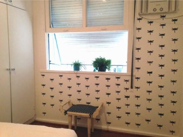 Carimbo eva estampa decoraçao parede 2