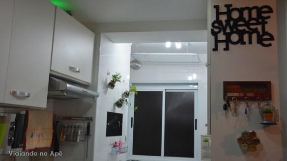 decoraçao area de serviço plantas