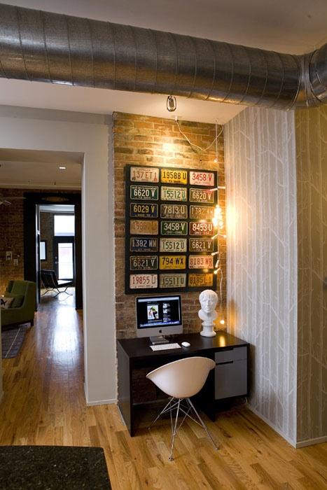 placa de carro decoraçao paredes