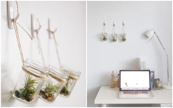 plantas suspensas pote de vidro 3