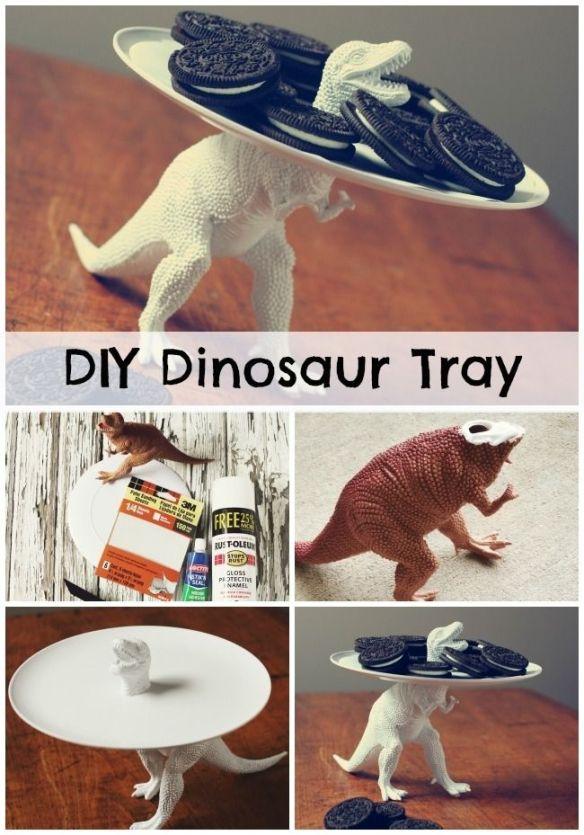 porta doces dinossauro