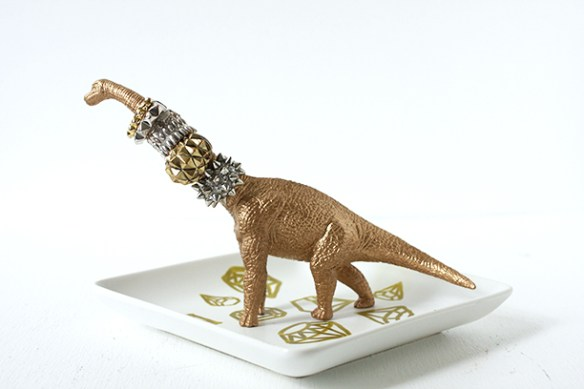porta joias dinossauro