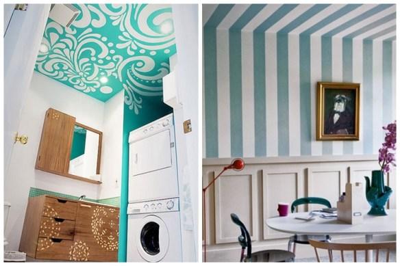 teto decorado decoracao teto lavanderia area de servico sala
