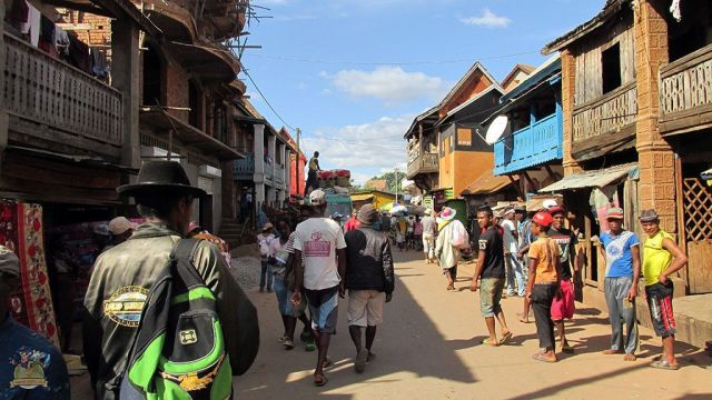 Calles de Ambalavao