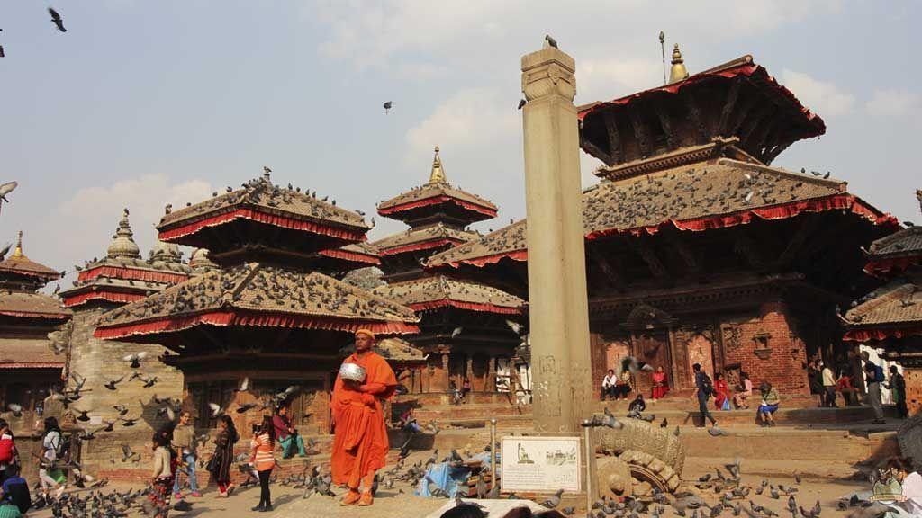 Resultado de imagen de Hay templos hindúes por todas partes en nepal