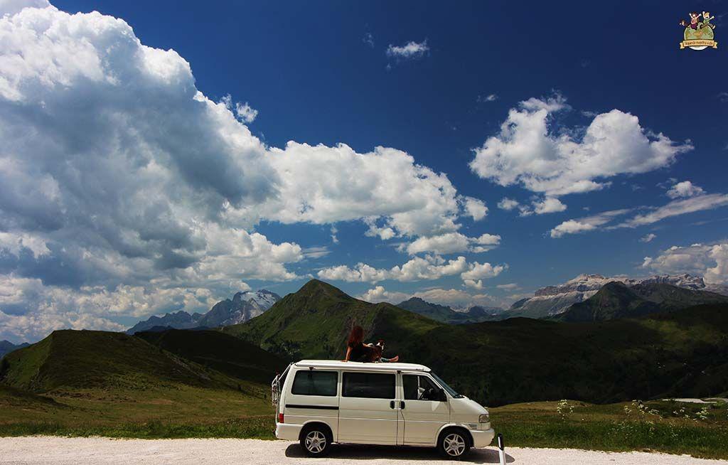 ruta en furgo por Dolomitas