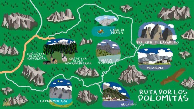 Ruta Dolomitas. Val di Funes
