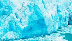 Glaciar y sus azules
