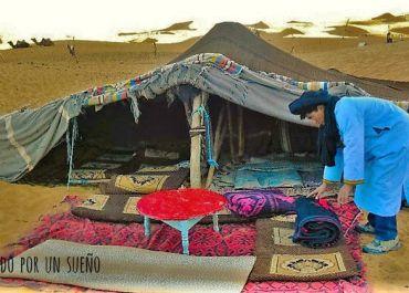 Jaima en Marruecos