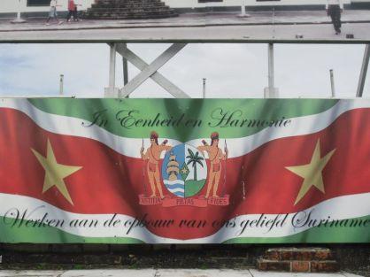 Bandera Surinam