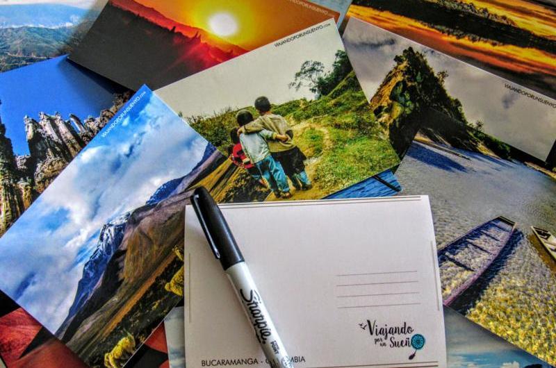 Postales de Viajando por un Sueño