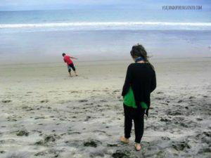 Carol de Viajando por un Sueño en la costa ecuatoriana