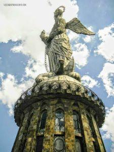 Panecillo Quito Ecuador Viajando por un sueño