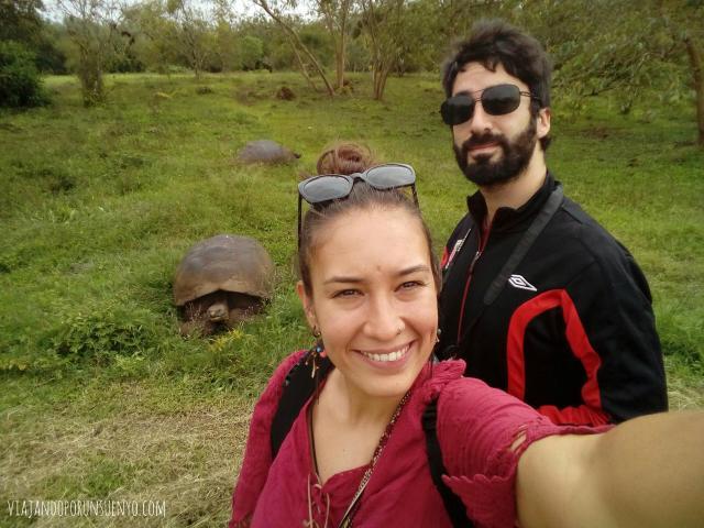 Viajando a Galapagos