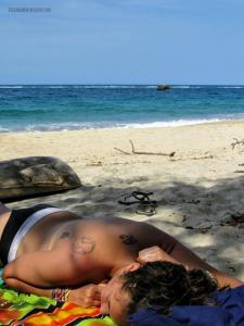 Carol Playa nudista tayrona Vx1S