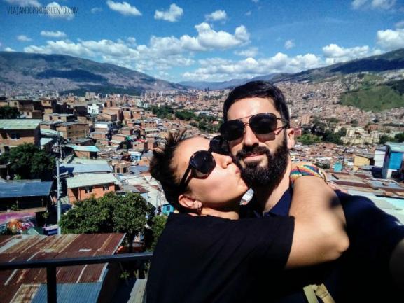 Medellín Colombia Viajando por un sueño