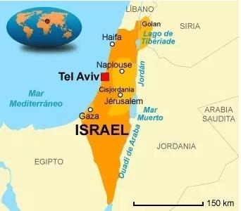 mapa israel vx1s