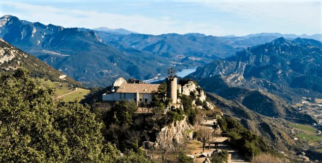 viajando por un sueño Santuario de Queralt