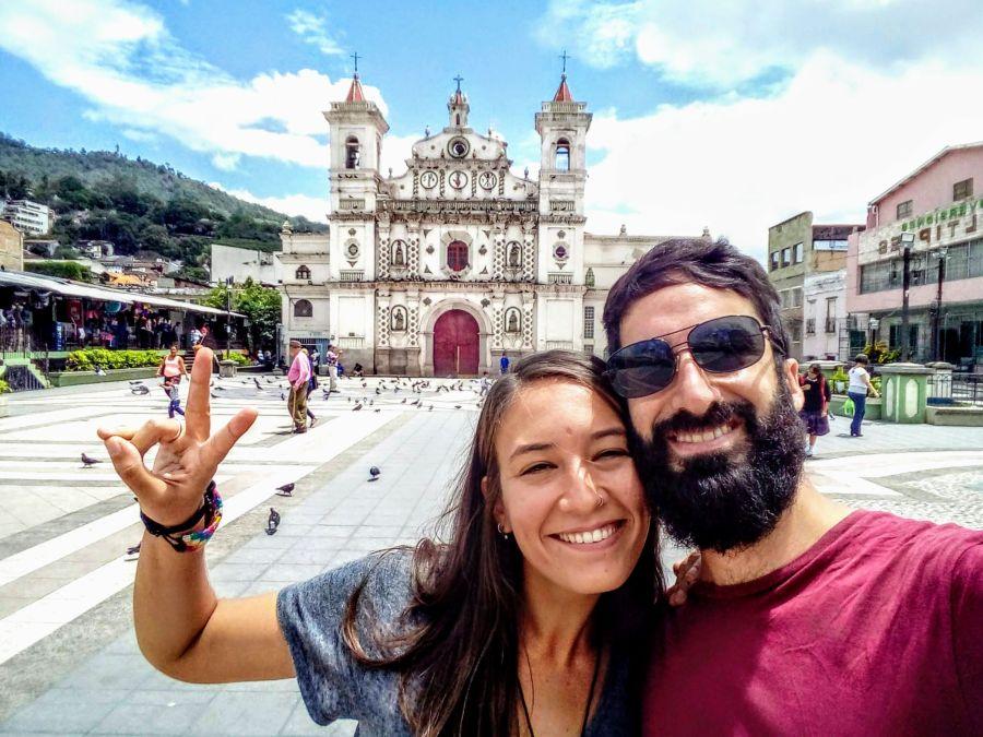 Carol y Juan Tegucigalpa Honduras