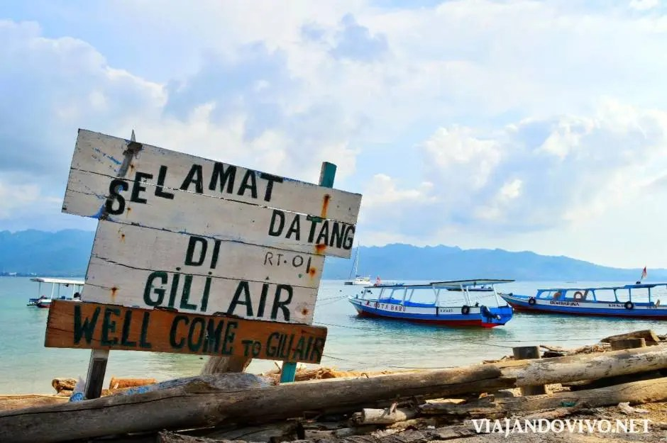 Las playas de Indonesia: ¿Gili Trawangan, Air o Meno?